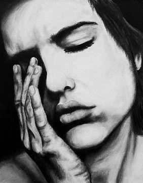 vrouw emotie van Liv Jongman