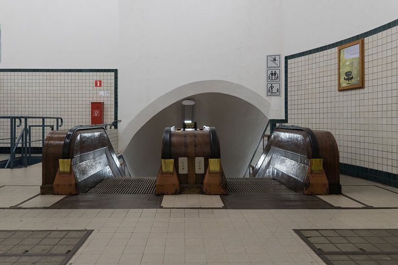 Sint-Annatunnel Antwerpen van Perry Dolmans