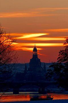 Kerk van Onze-Lieve-Vrouw Dresden van Anette Jäger