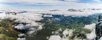 Schweiz - Blick von Jungfraujoch van Marion Seibt