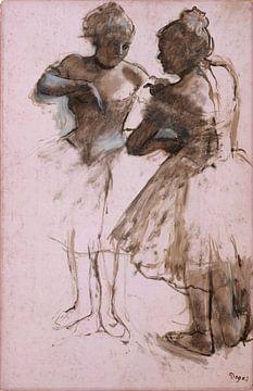 Deux danseurs, Edgar Degas sur