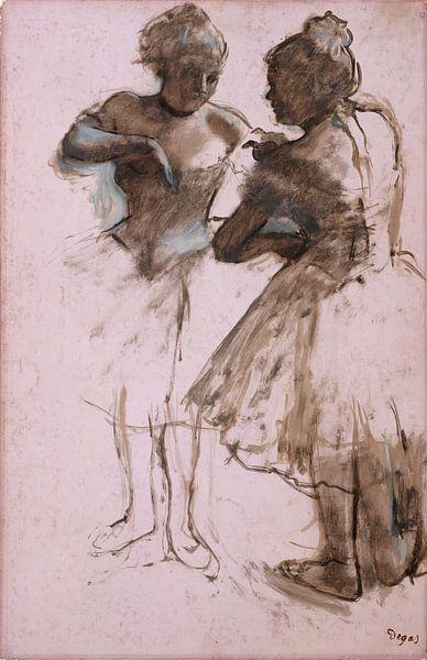 Twee Dansers, Edgar Degas van Meesterlijcke Meesters