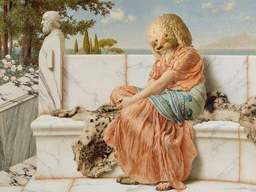 a Poodle's Reverie van Marja van den Hurk