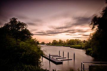 Uitzicht in de Biesbosch von Peter en Hetty van Veen