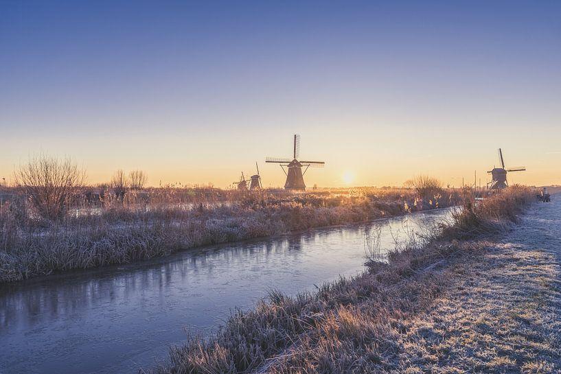 Winterlandschap van Maikel Brands