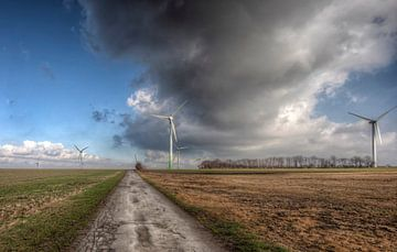 Windmolenpark bij Bocholtz van