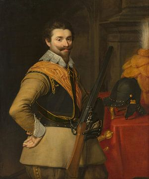 Portrait of an Officer, Jan Anthonisz van Ravesteyn