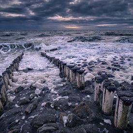 Quand les vagues manquent sur Sander Poppe