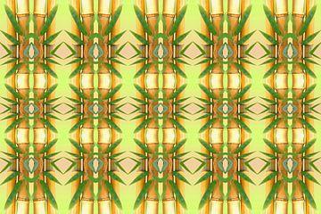 bamboo pattern van