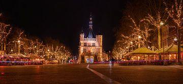 Die Waag bei Nacht von Wouter Van der Zwan