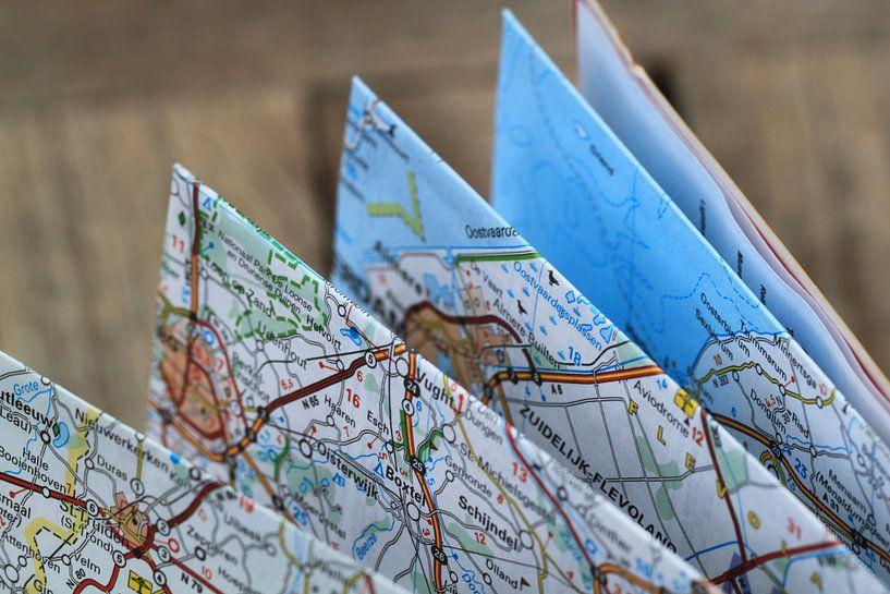 Carte pliante sur World Maps
