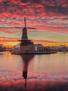 Epischer Sonnenaufgang (stehend) von Harro Jansz