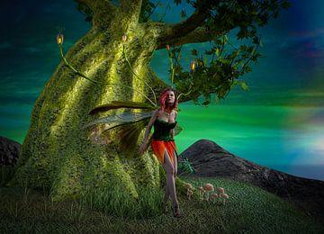 Fairy with Tree - Elf met een boom