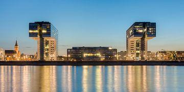 Crane Houses in Cologne van