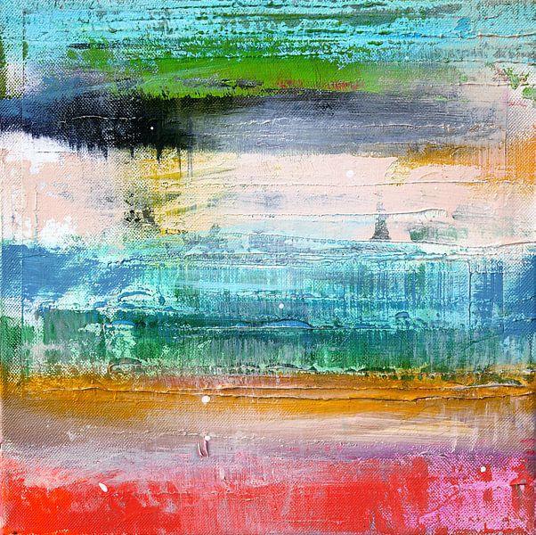 Abstract fields 2 van Atelier Paint-Ing