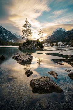 Hintersee bei Sonnenuntergang, Berchtesgaden von road to aloha