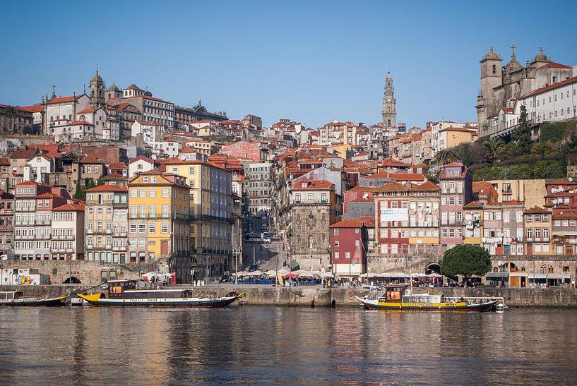 Uitzicht op Porto van BTF Fotografie
