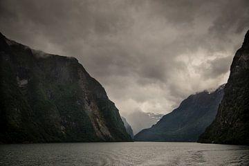 Sognefjord, Noorwegen van Marie-Christine Alsemgeest-Zuiderent
