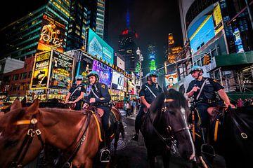 Toezicht op Times Square sur Roy Poots