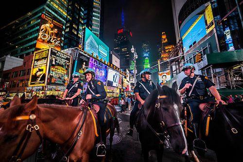Toezicht op Times Square van