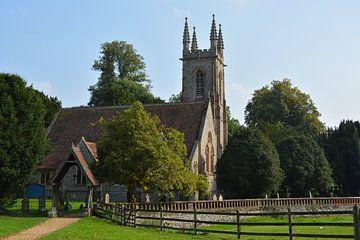 De St Nicholas kerk, Chawton van Patricia Leeman