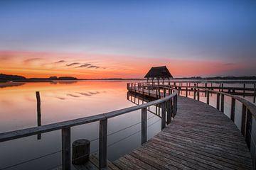 Sonnenaufgang am Hemmelsdorfer See von Sebastian Holtz