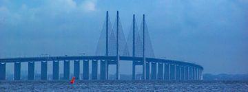 Öresundbrug (breedbeeldfoto)