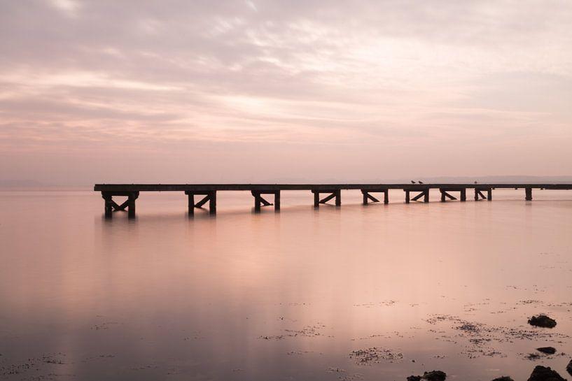 Steiger in het Veerse Meer van Annemiek Gijsbertsen
