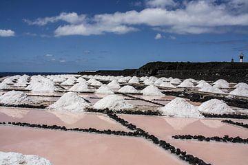 zout uit de zee gewonnen op la palma von Rick Van der bijl