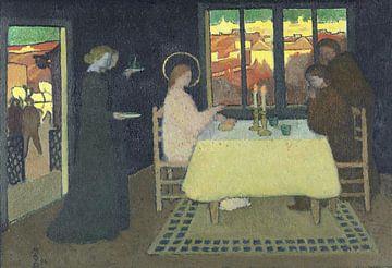 Maurice Denis, Das Abendmahl von Emmaus, 1894 von Atelier Liesjes