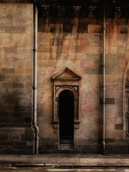 Doors serie - Scotland 1 van Joost Hogervorst