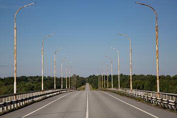 De weg... Waarnaartoe?  van Anko Zwerver