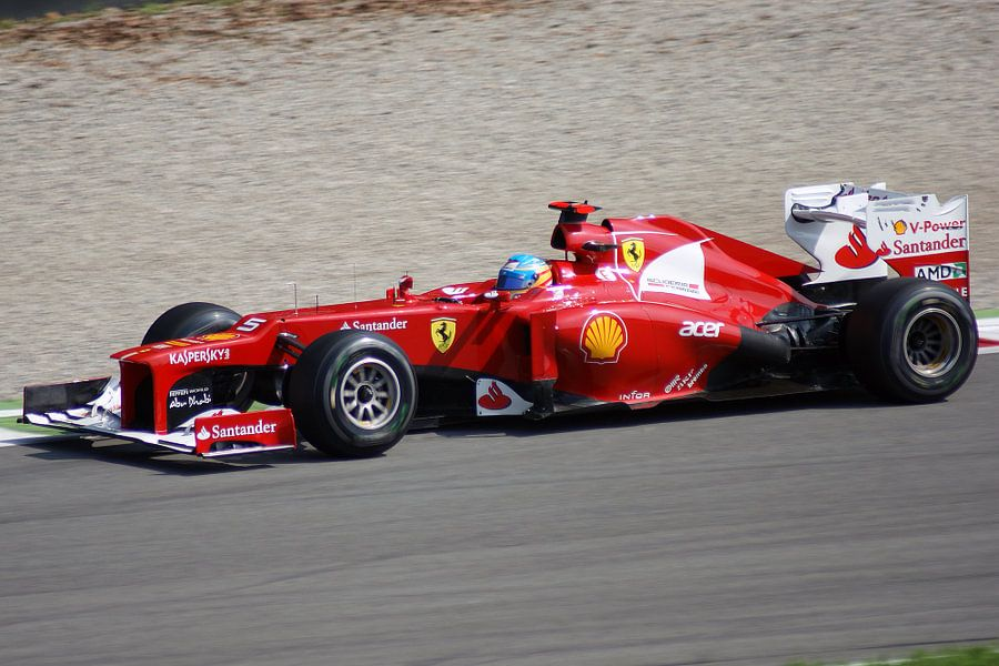 Fernando Alonso Monza 2012