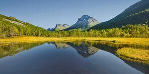 Herbst in Norwegen II von Rainer Mirau
