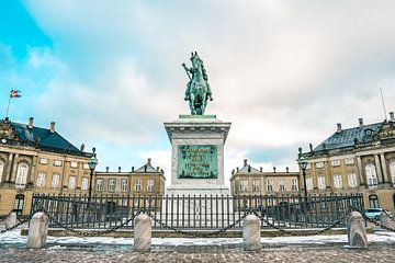 Amalienborg, Copenhagen, Horse von Antoine Cedric