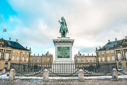 Amalienborg, Copenhagen, Horse van