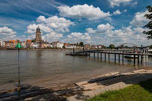 Skyline Deventer met de IJssel