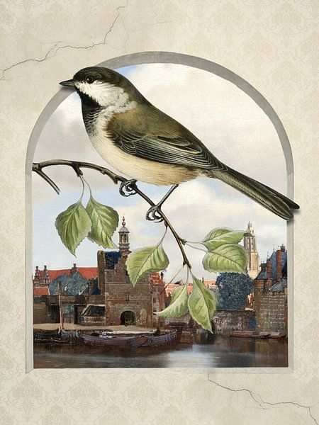 A Bird's-Eye View on Delft van Marja van den Hurk