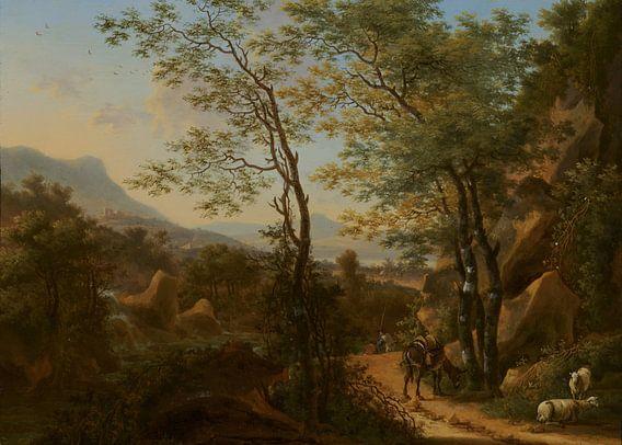 VTWONEN Bergachtig landschap in Italië - Heusch (gezien bij vtwonen) van Marieke de Koning