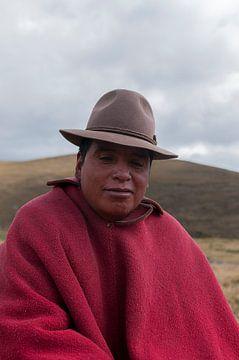 Ecuador: Inwoner (Chimborazo) van Maarten Verhees