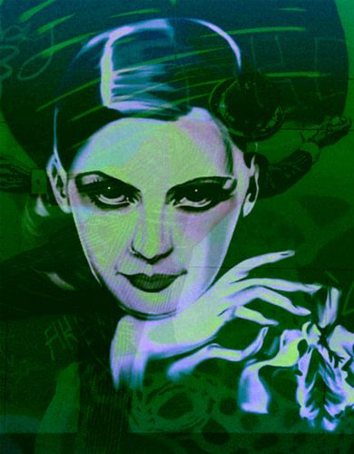 Greta Garbo Plakative Pop Art PUR 1