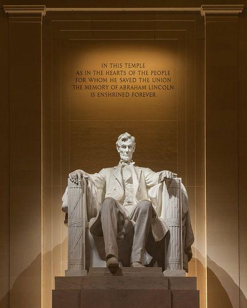 The Lincoln Memorial, Washington, D.C. United States. van Henk Meijer Photography