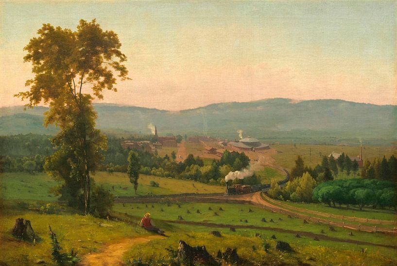 Das Lackawanna-Tal, George Inness von Meesterlijcke Meesters