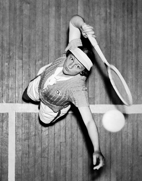 Tennis Champ Sylvia Henrotin von Bridgeman Images