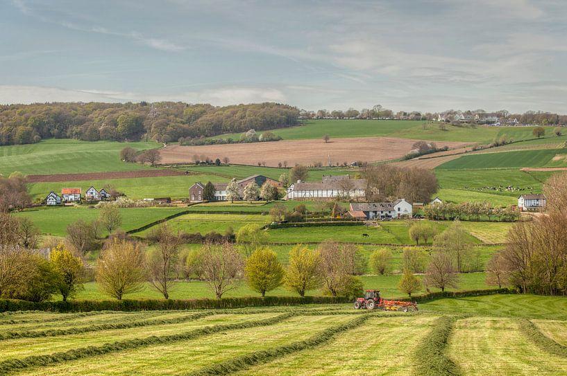 Lente in Zuid-Limburg van John Kreukniet