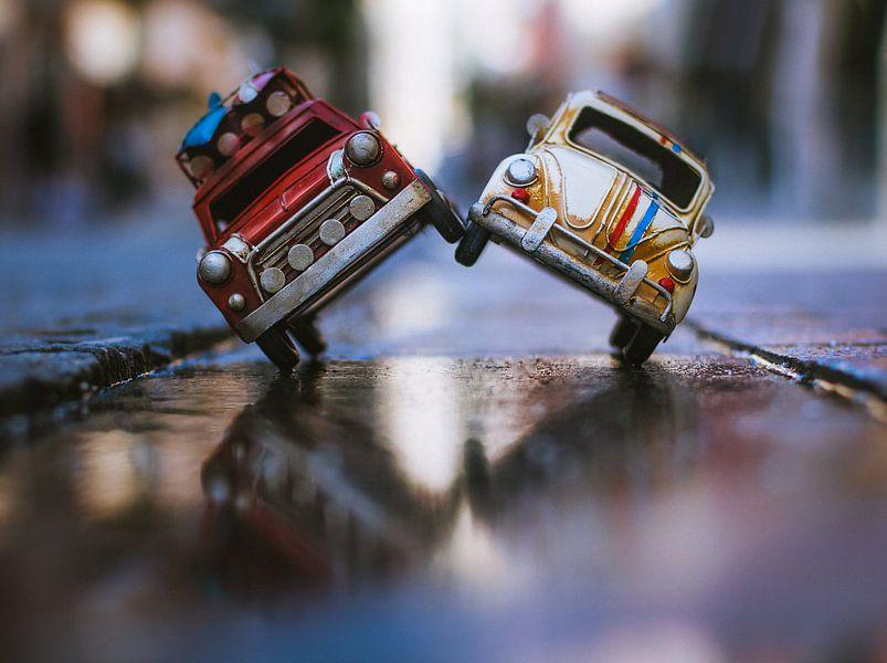 Herbie und Surfing Wheels werden verrückt @ die Stadt von Leo leclerc