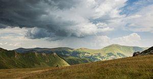 Storm boven Montenegro
