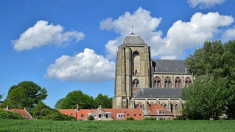 Grote Kerk Veere sur Zeeland op Foto