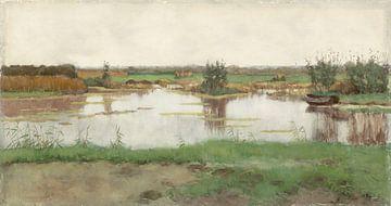 Ein Teich auf einer Wiese, Nicholas Bastert