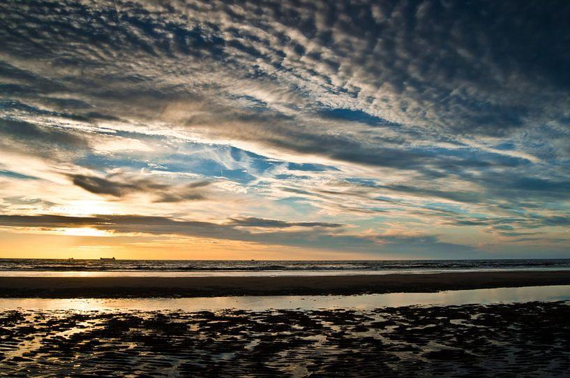 Zonsondergang | Wassenaar van Ricardo Bouman